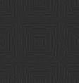 Seamless embossed lines black vector