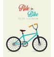 Bicycle design vector