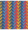 Colorful herringbone vector