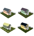 Isometric house style 5 vector