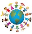 Children around the world vector