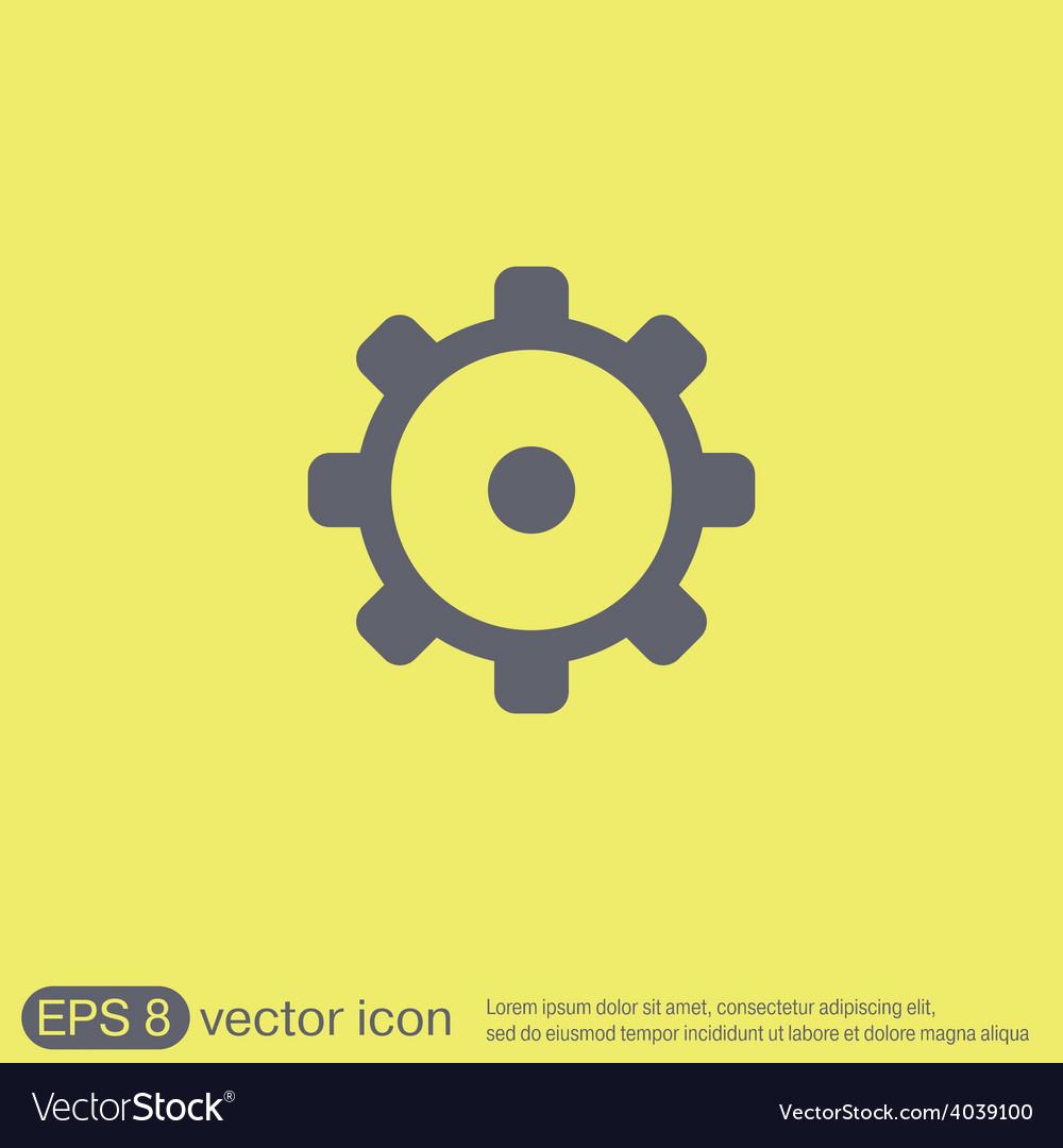 Cogwheel icon setting and repair symbol settings vector   Price: 1 Credit (USD $1)
