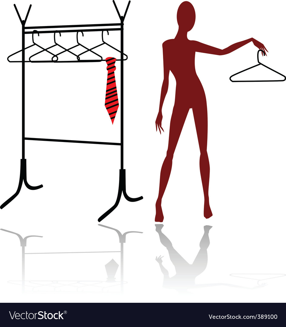 Mannequin silhouette vector | Price: 1 Credit (USD $1)