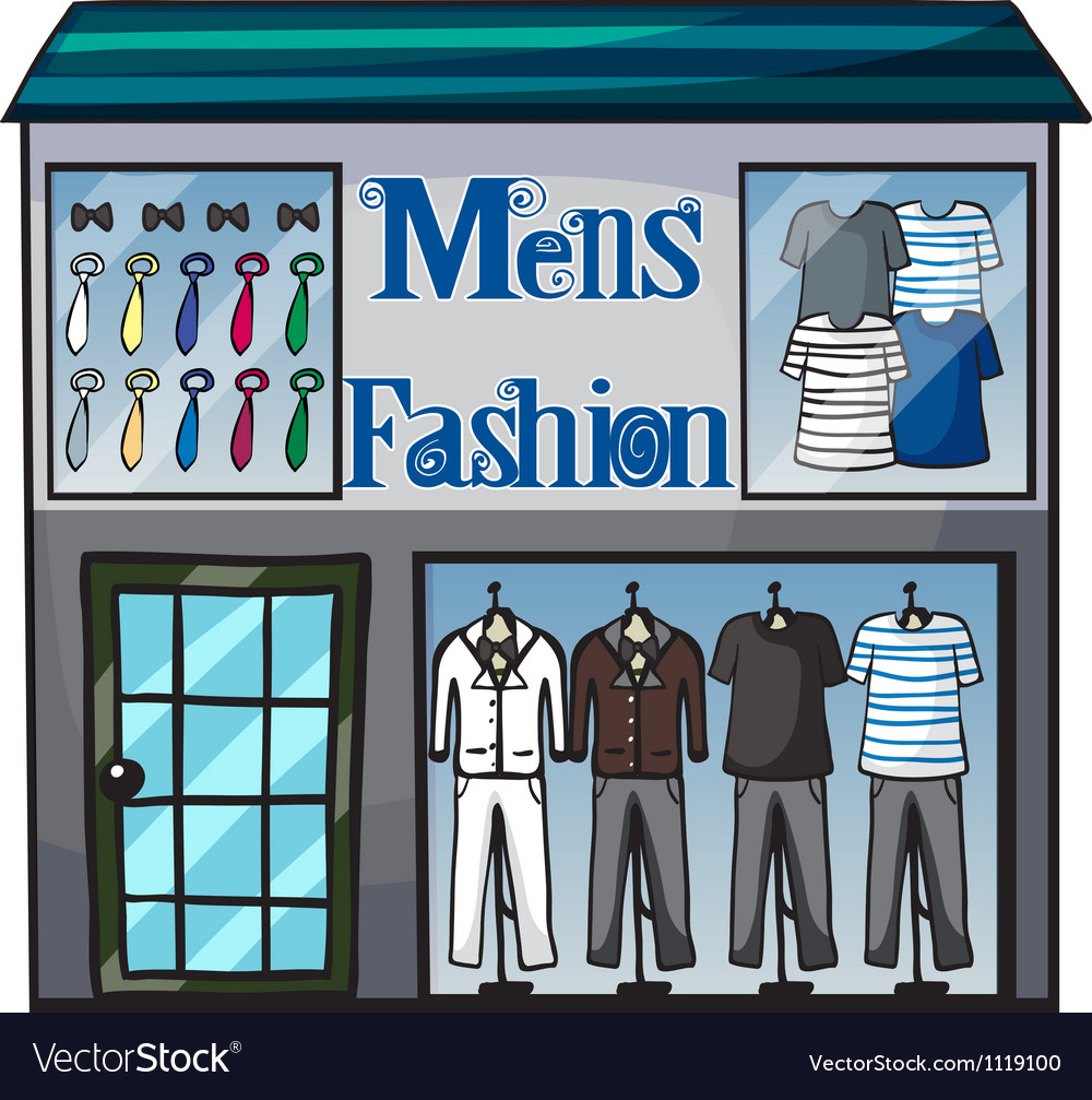Mens fashion short vector | Price: 1 Credit (USD $1)