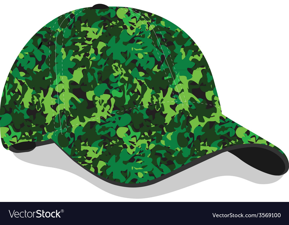 Military cap vector | Price: 1 Credit (USD $1)
