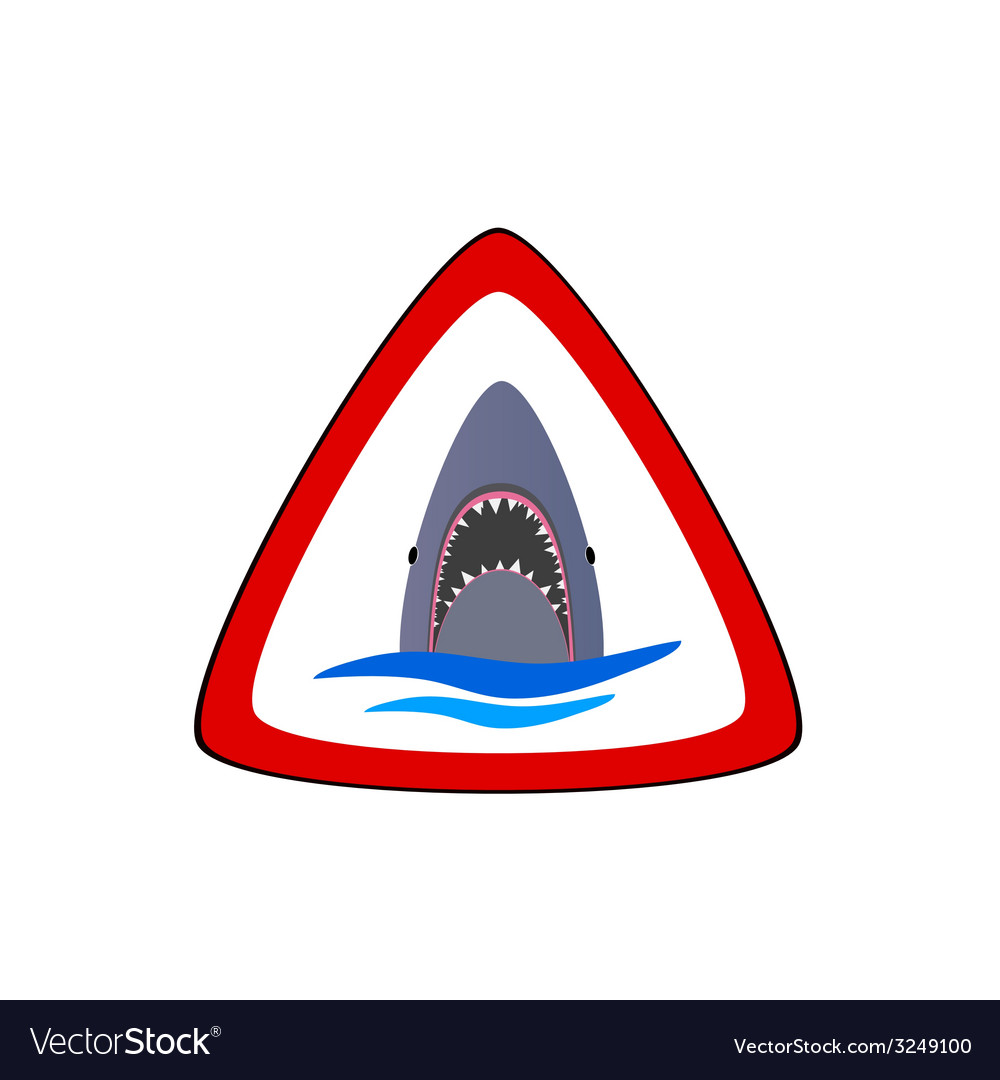 Shark in the sea part two vector | Price: 1 Credit (USD $1)