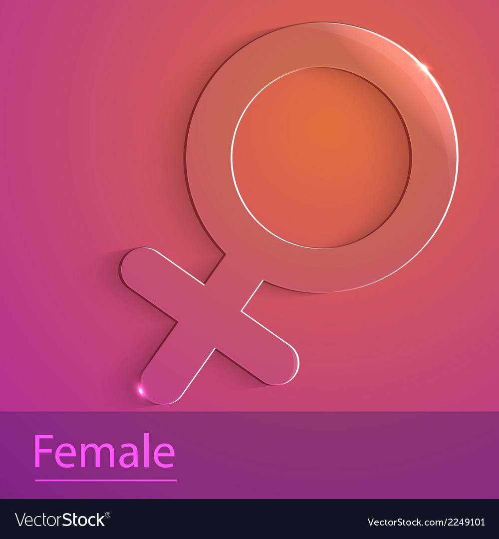 Male sign glass icon vector   Price: 1 Credit (USD $1)