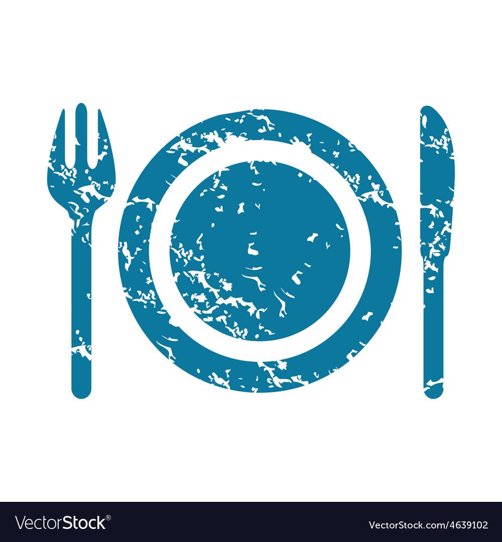 Dishware icon vector | Price: 1 Credit (USD $1)