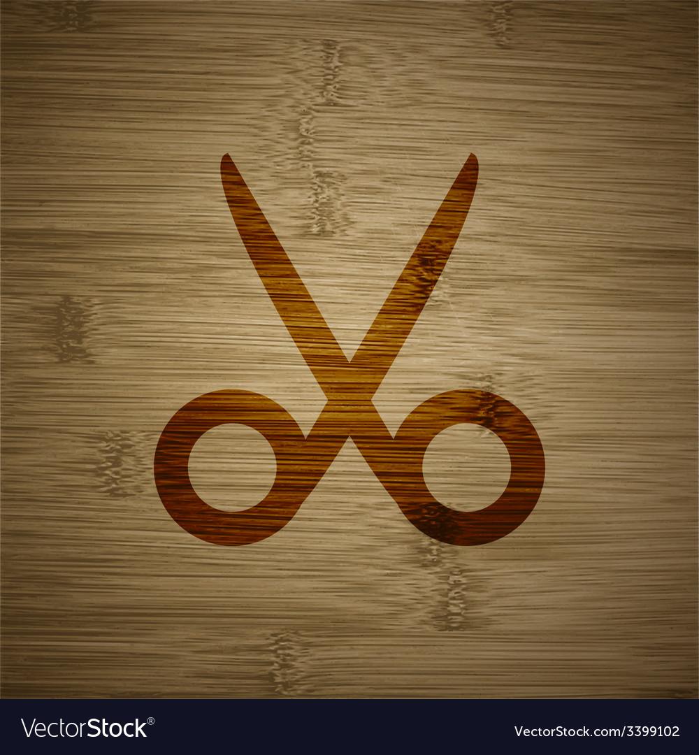Scissors hairdresser icon symbol flat modern web vector   Price: 1 Credit (USD $1)