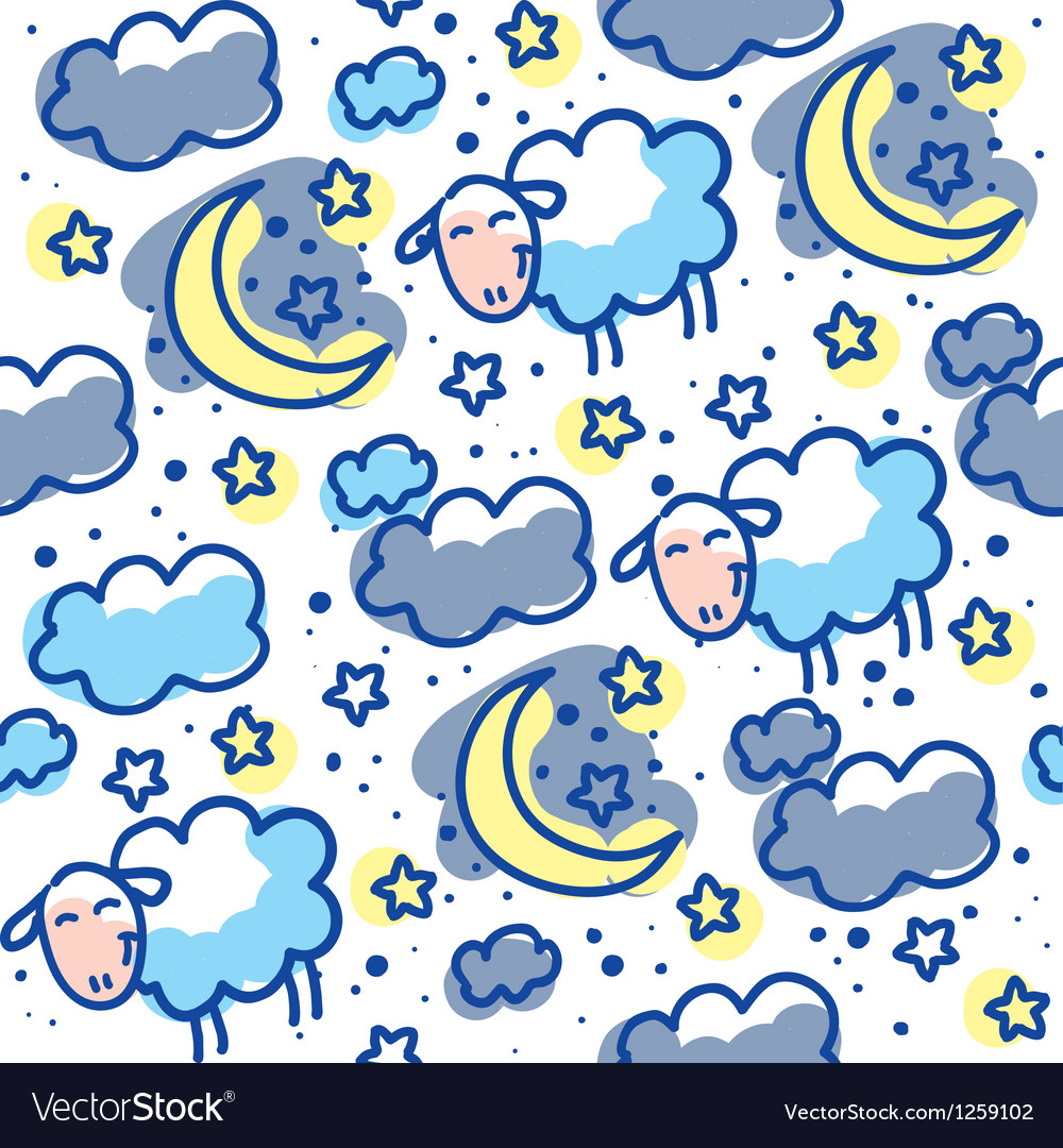 Sheeps pattern vector   Price: 1 Credit (USD $1)