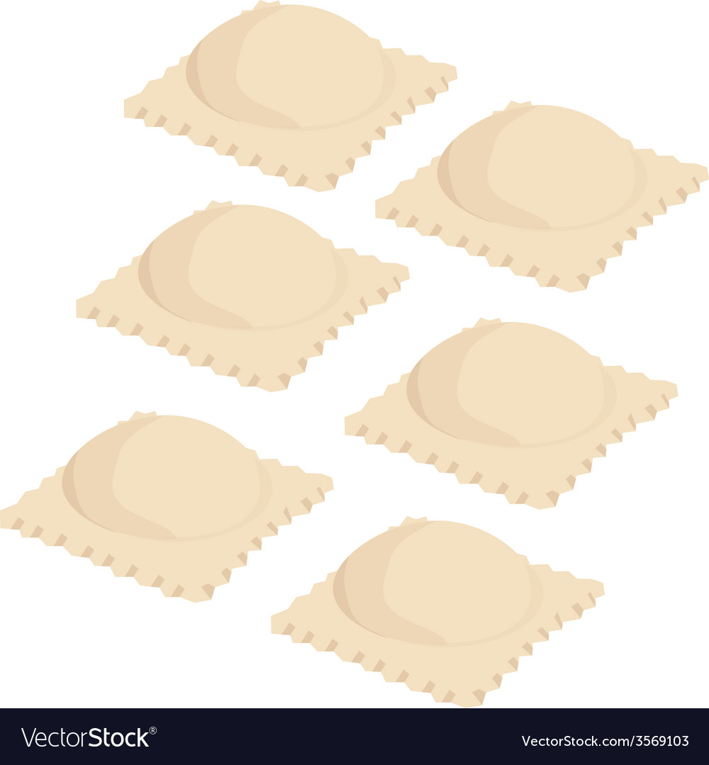 Ravioli set vector | Price: 1 Credit (USD $1)
