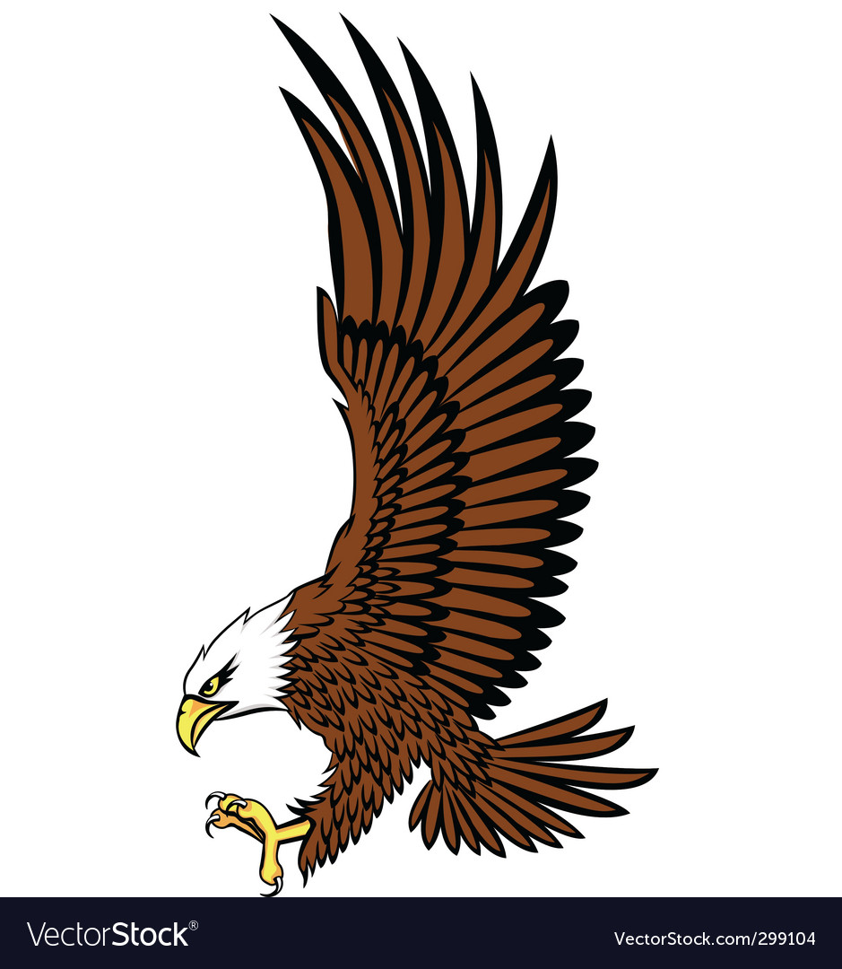 Bald eagle vector | Price: 1 Credit (USD $1)