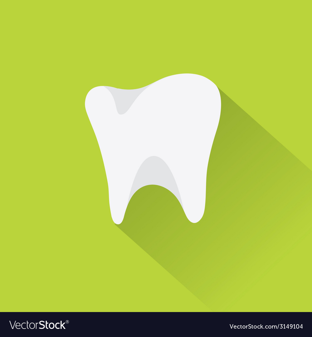 Tooth icon for dentists business vector | Price: 1 Credit (USD $1)