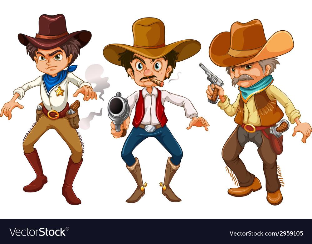 Cowboys vector | Price: 1 Credit (USD $1)