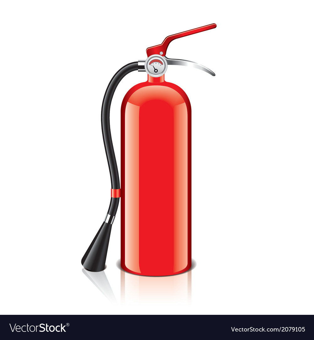 Object fire extinguisher vector | Price: 1 Credit (USD $1)