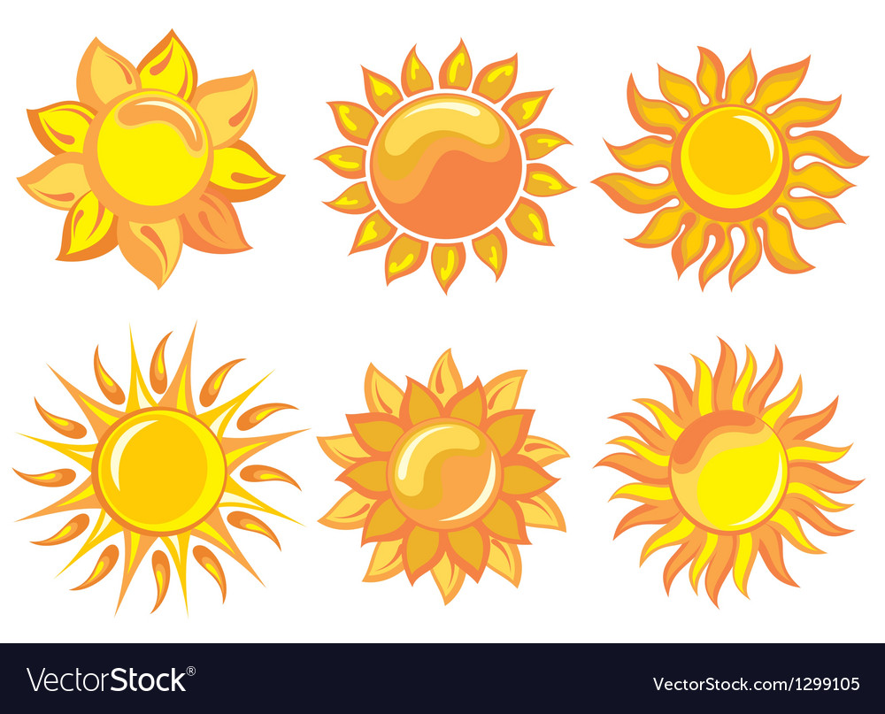 Sun vector | Price: 3 Credit (USD $3)