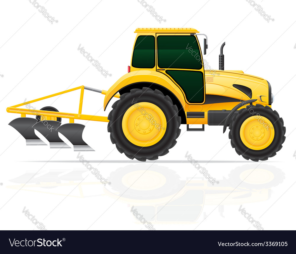 Tractor 07 vector | Price: 3 Credit (USD $3)