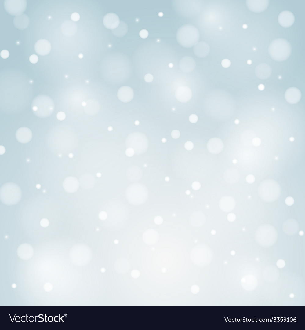 Blue christmas background with white snowflakes vector | Price: 1 Credit (USD $1)