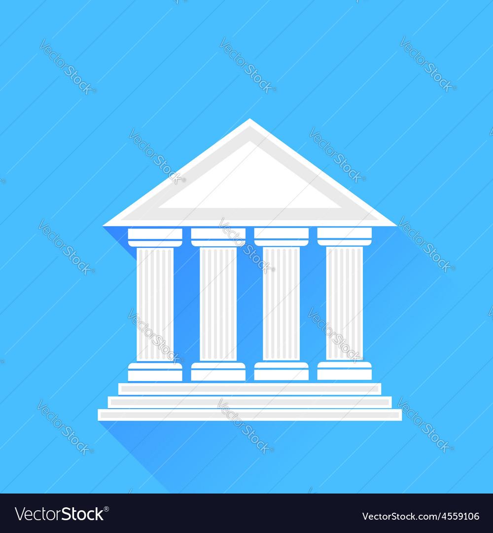 Greek temple vector | Price: 1 Credit (USD $1)