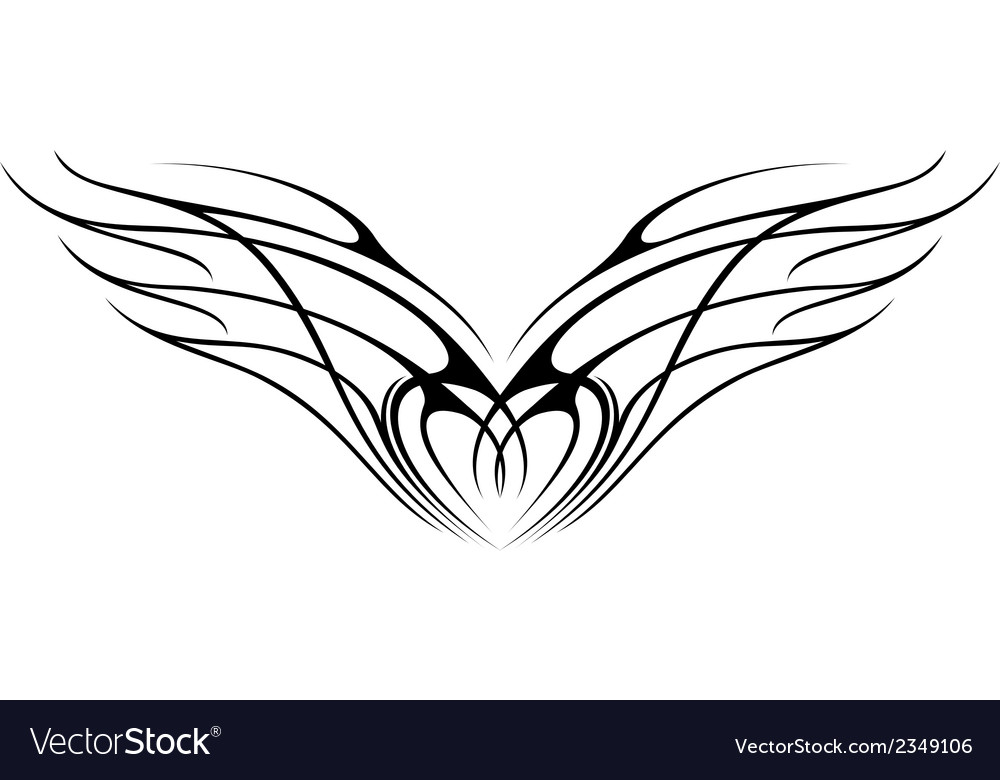 Wing 2 vector | Price: 1 Credit (USD $1)