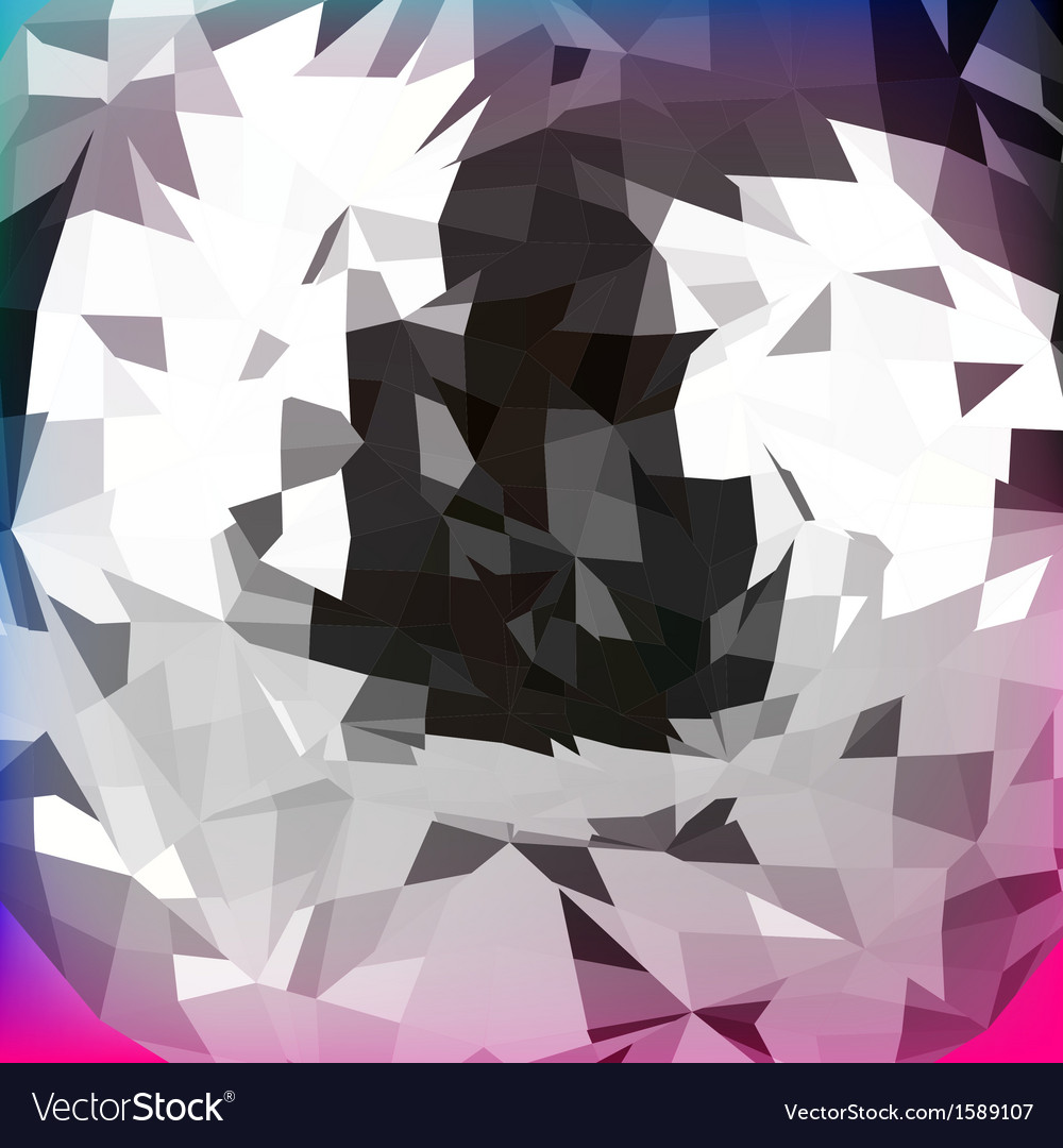 Abstract polygonal background for design vector | Price: 1 Credit (USD $1)