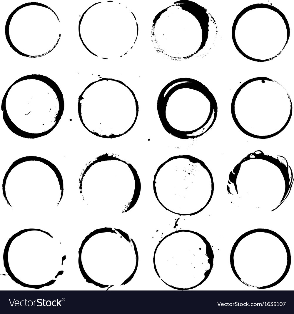 Circle elements set 01 vector | Price: 1 Credit (USD $1)