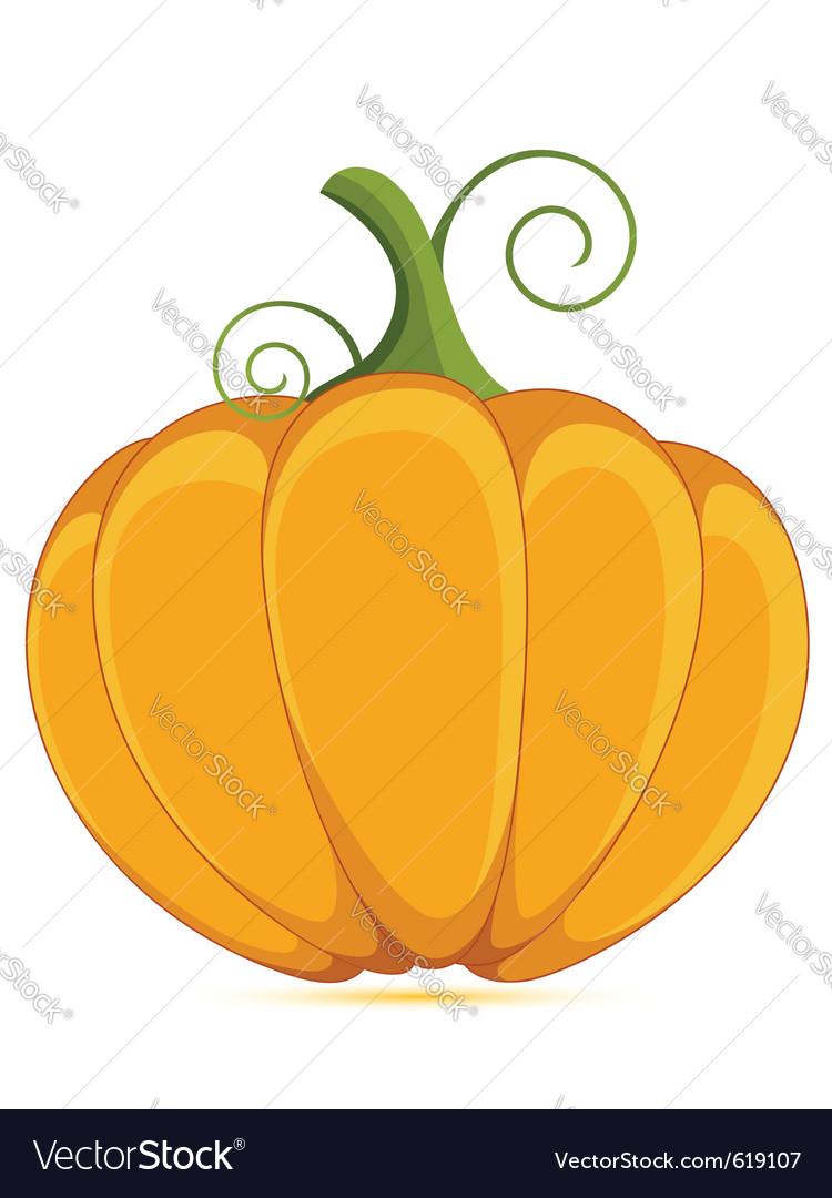 Decorative pumpkin vector | Price: 1 Credit (USD $1)