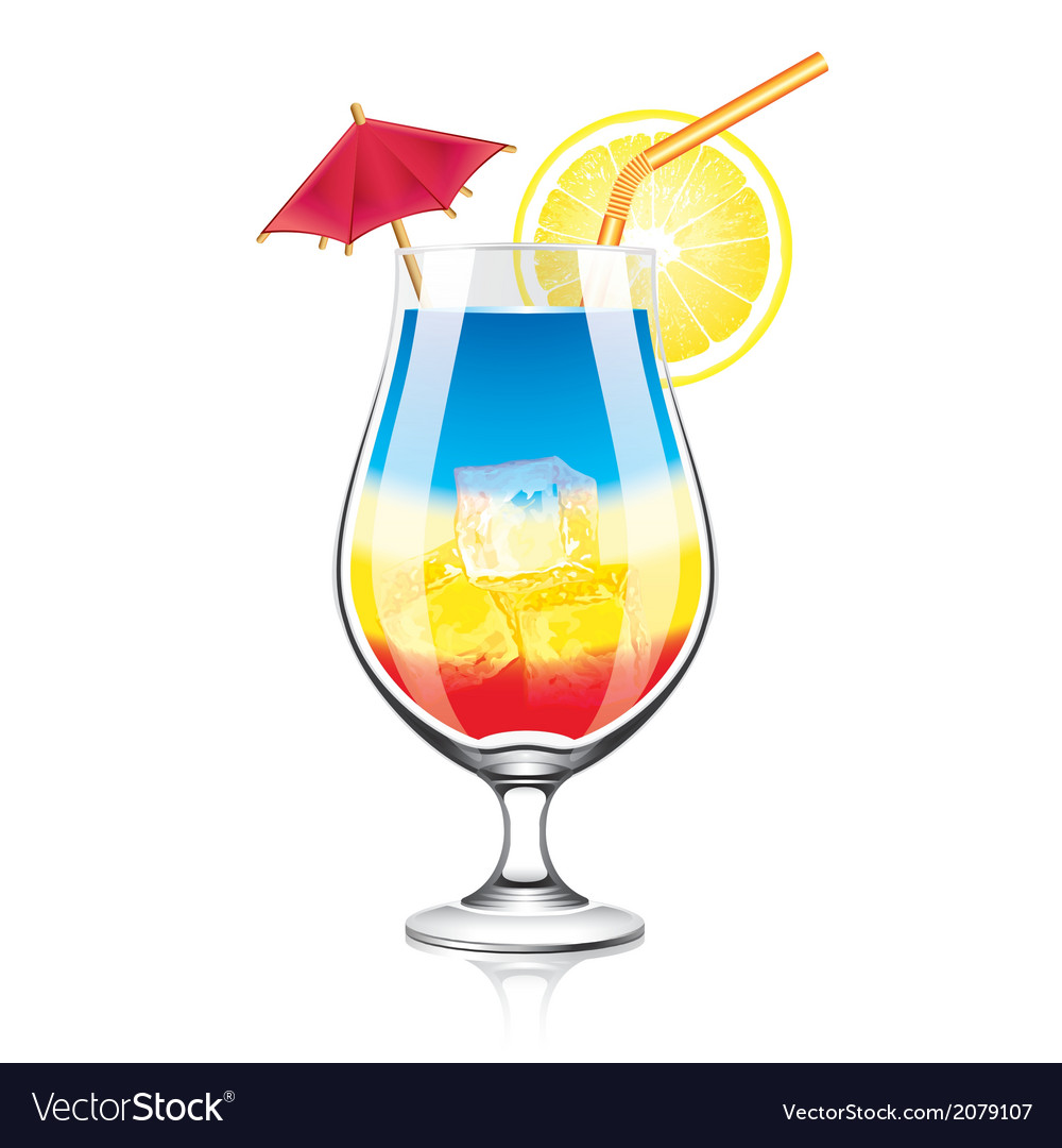 Object cocktail vector | Price: 1 Credit (USD $1)