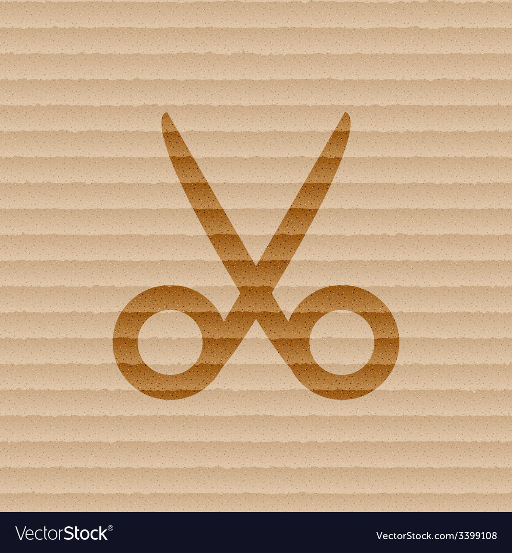 Scissors hairdresser icon symbol flat modern web vector | Price: 1 Credit (USD $1)