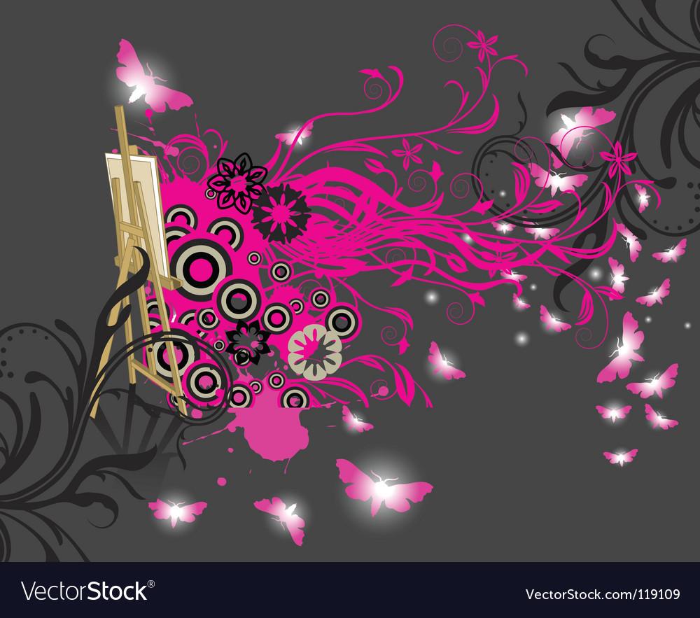 Magic canvas vector | Price: 1 Credit (USD $1)