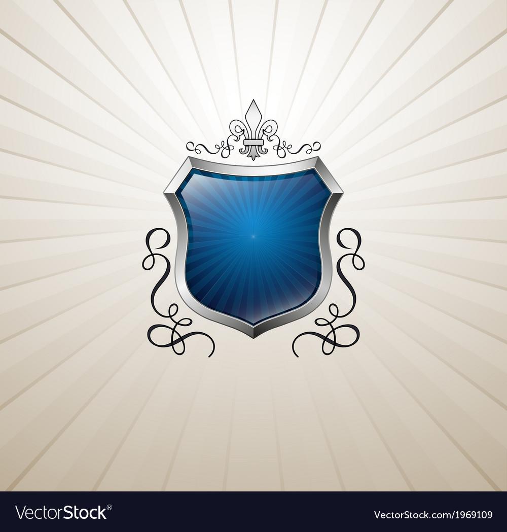 Vintage heraldry emblem vector | Price: 1 Credit (USD $1)