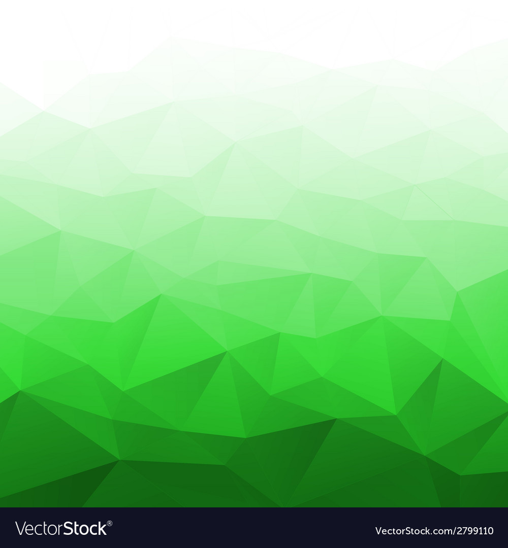 Abstract gradient bright green geometric backgroun vector | Price: 1 Credit (USD $1)