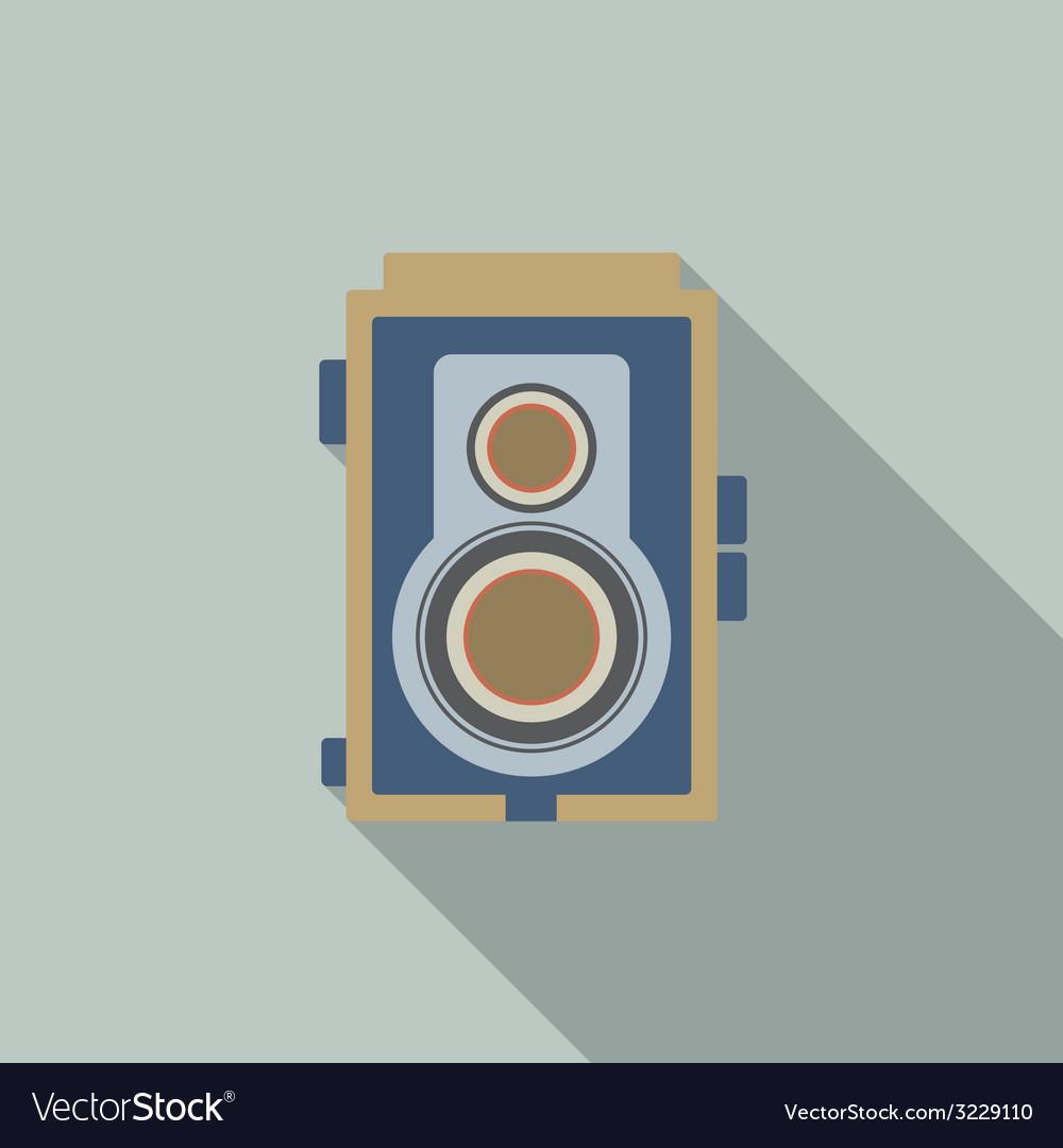 Modern design vintage camera vector | Price: 1 Credit (USD $1)