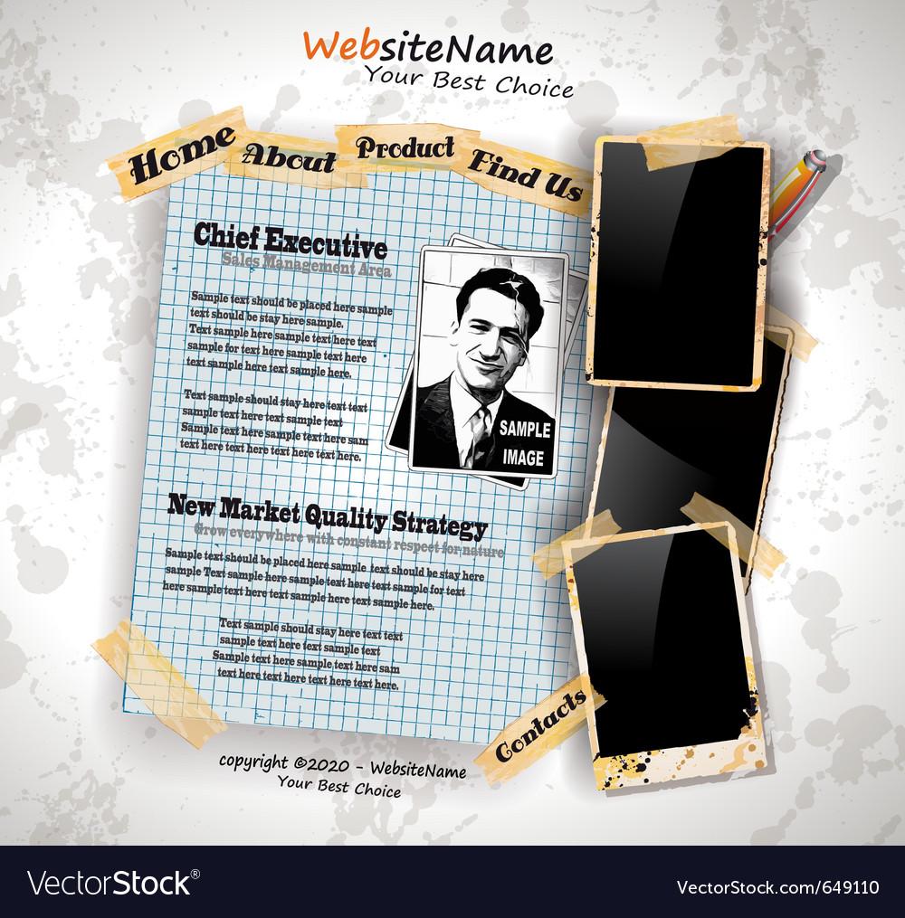 Photo book vintage vector | Price: 3 Credit (USD $3)