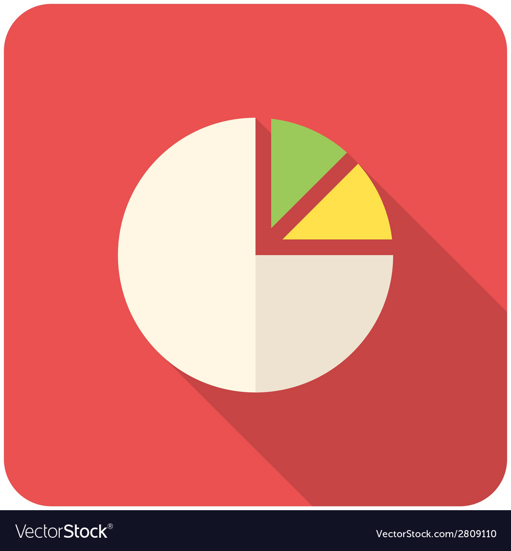 Pie chart icon vector | Price: 1 Credit (USD $1)