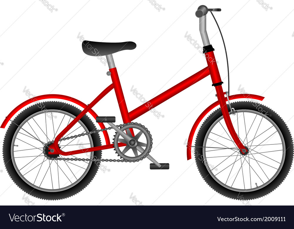 Child bike vector | Price: 1 Credit (USD $1)