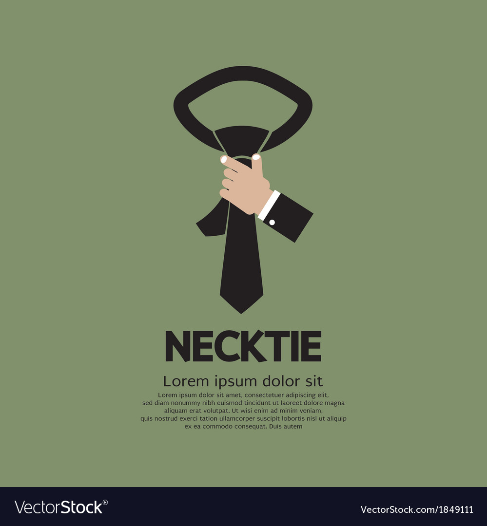 Green necktie vector | Price: 1 Credit (USD $1)