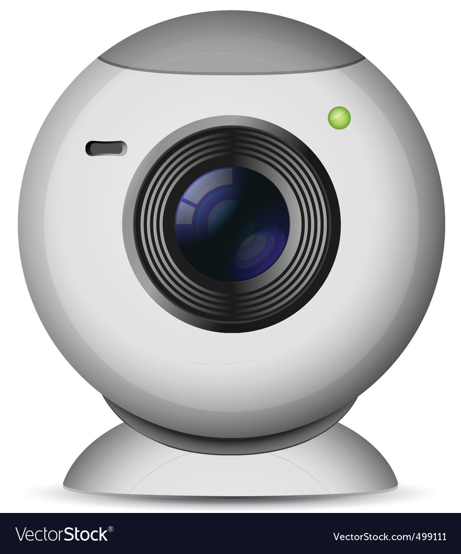 Web camera vector | Price: 3 Credit (USD $3)