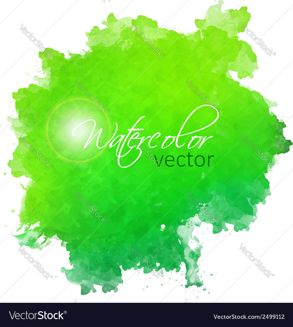 Abstract watercolor spot painted background vector | Price: 1 Credit (USD $1)