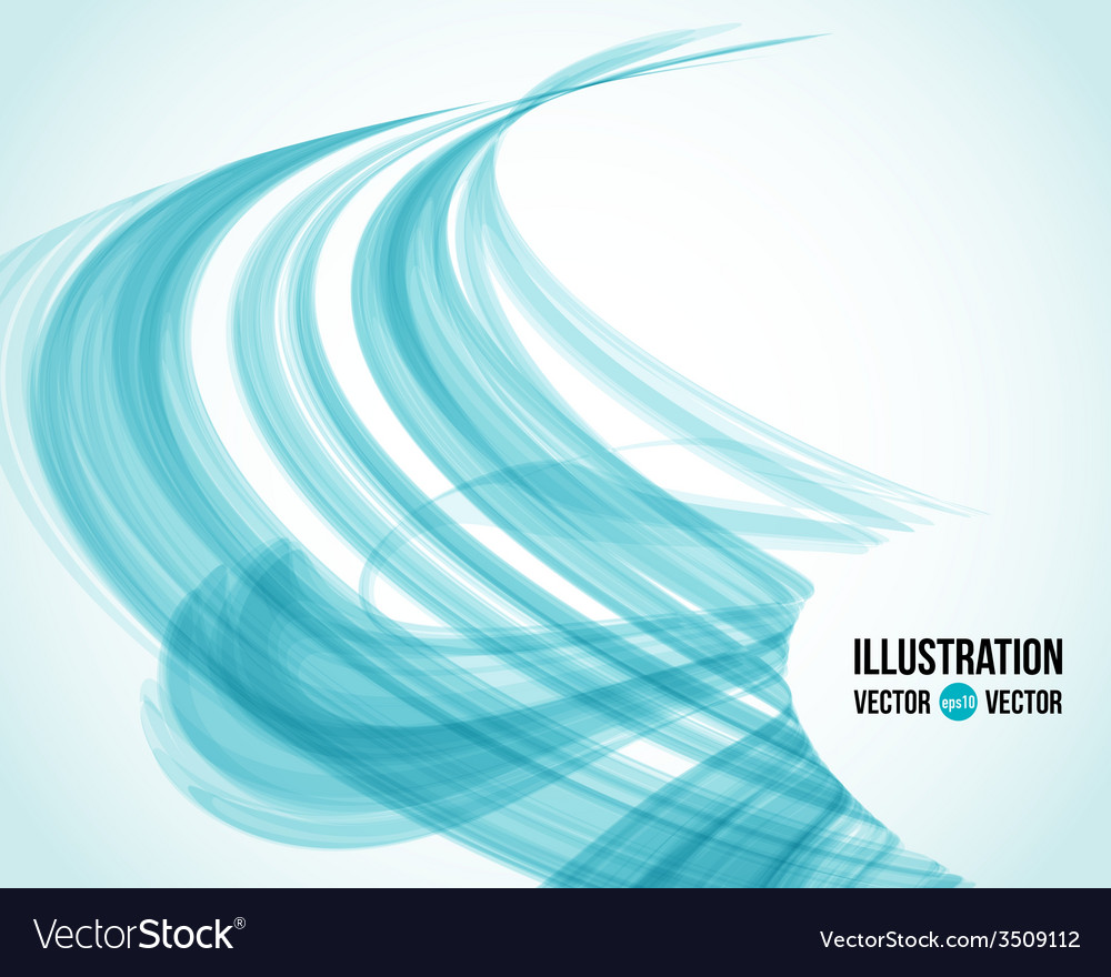 Abstract white and blue background vector | Price: 1 Credit (USD $1)