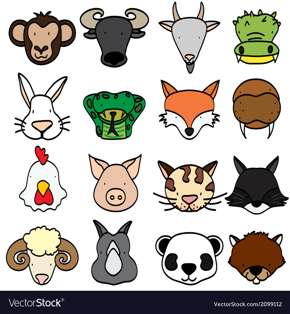 Animal 2 vector | Price: 1 Credit (USD $1)