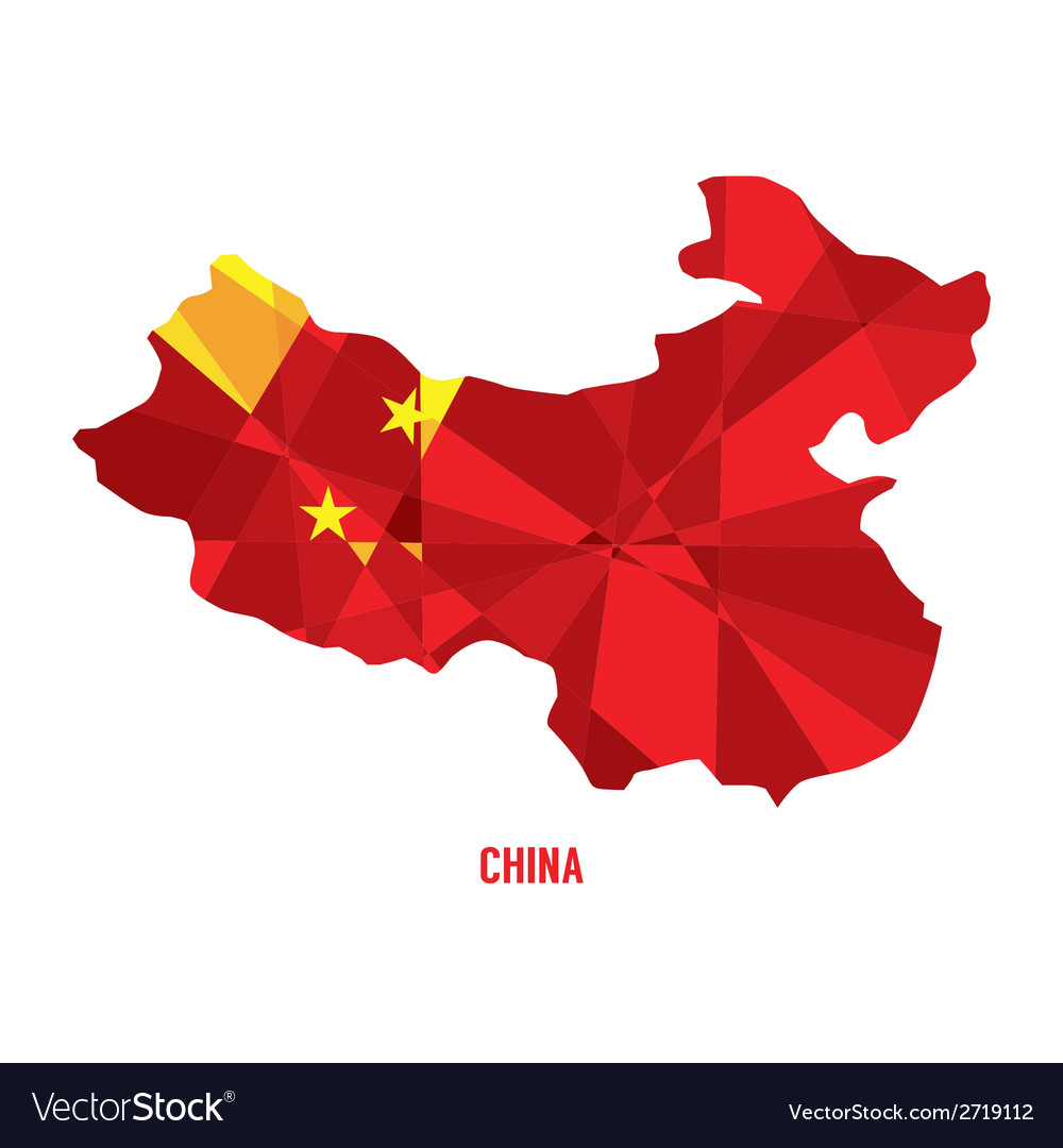 Map of china vector | Price: 1 Credit (USD $1)