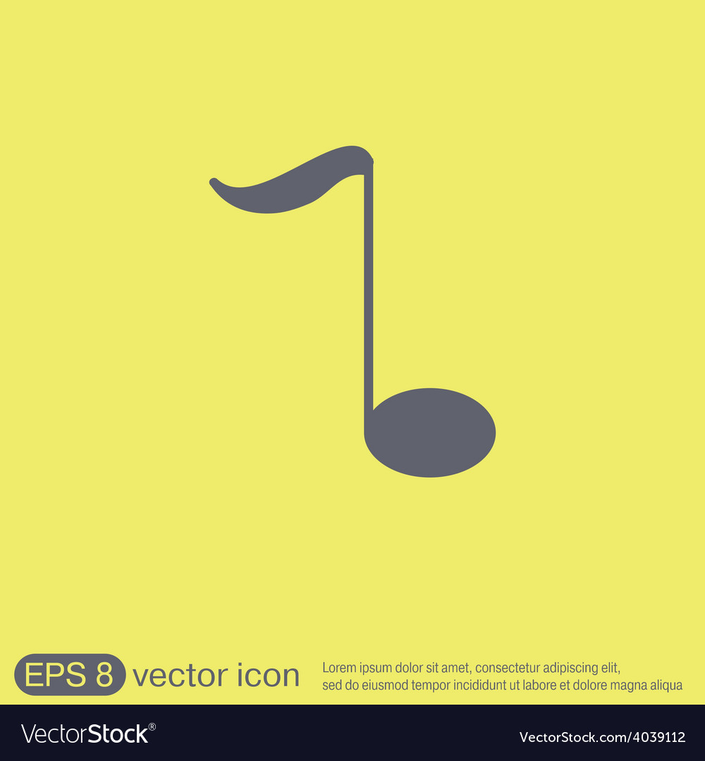 Musical note character singing and the music vector   Price: 1 Credit (USD $1)
