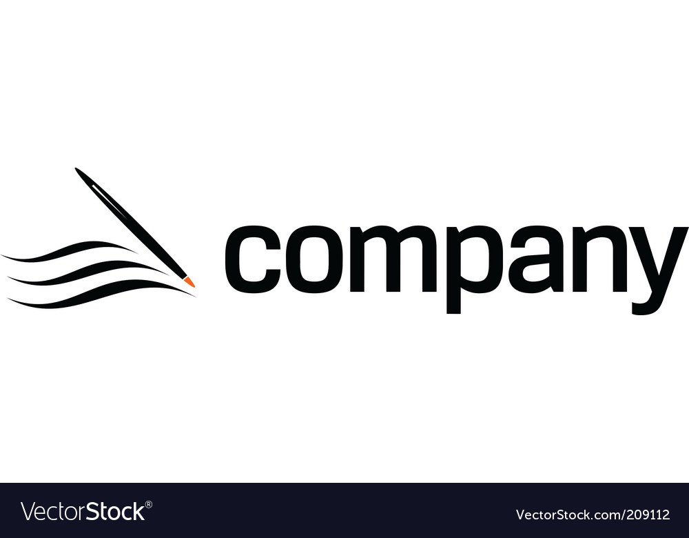 Pen for attorney company logo vector | Price: 1 Credit (USD $1)