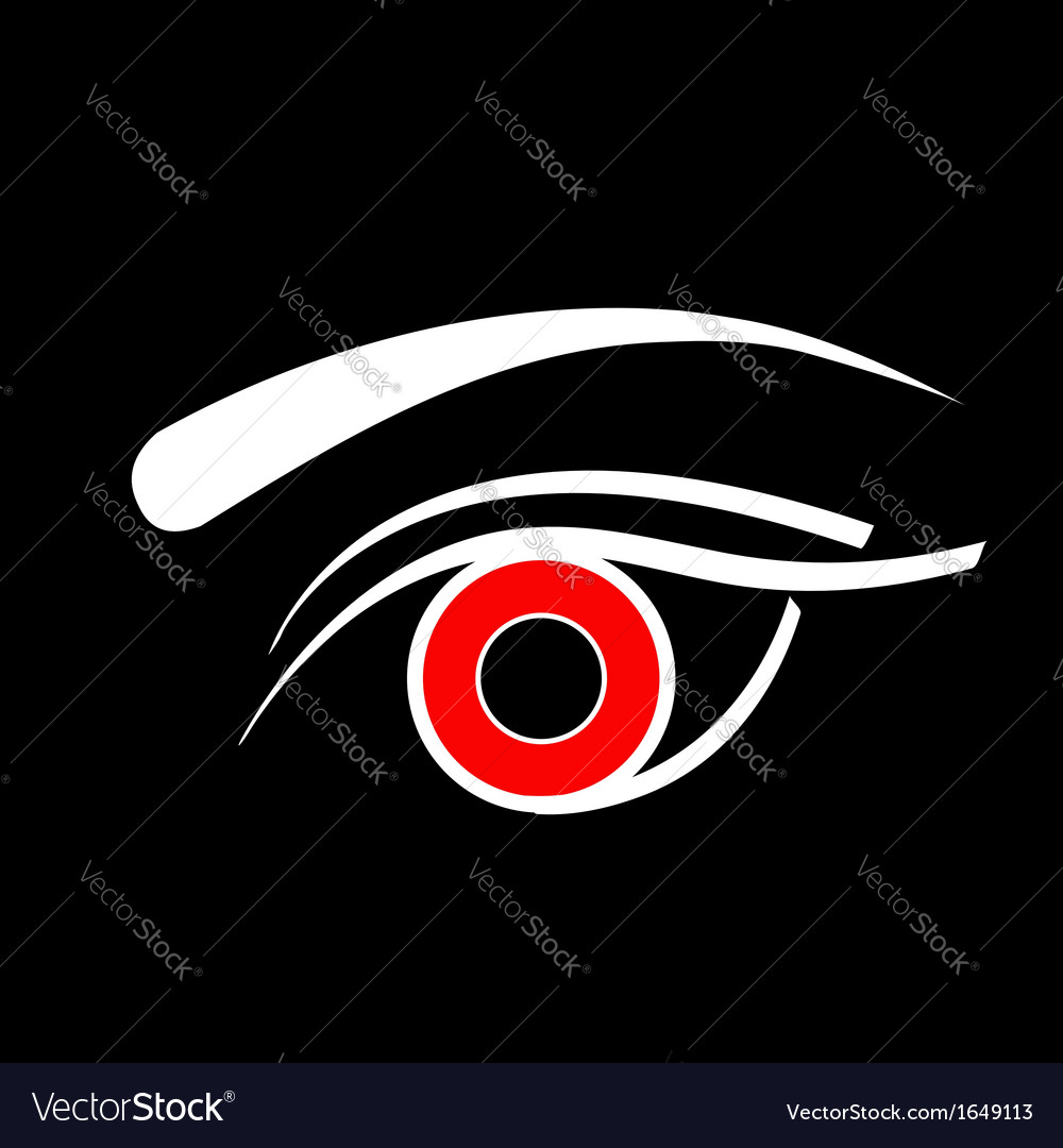 Contact lens business logo vector | Price: 1 Credit (USD $1)