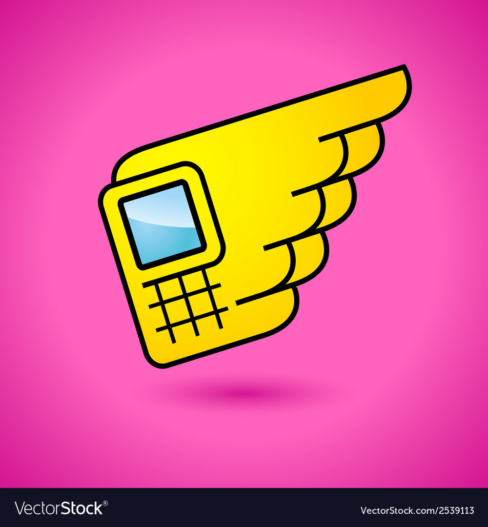 Fast communication sign vector | Price: 1 Credit (USD $1)