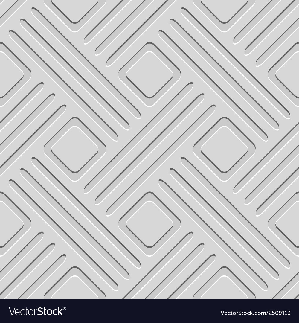 White seamless geometric pattern vector | Price: 1 Credit (USD $1)