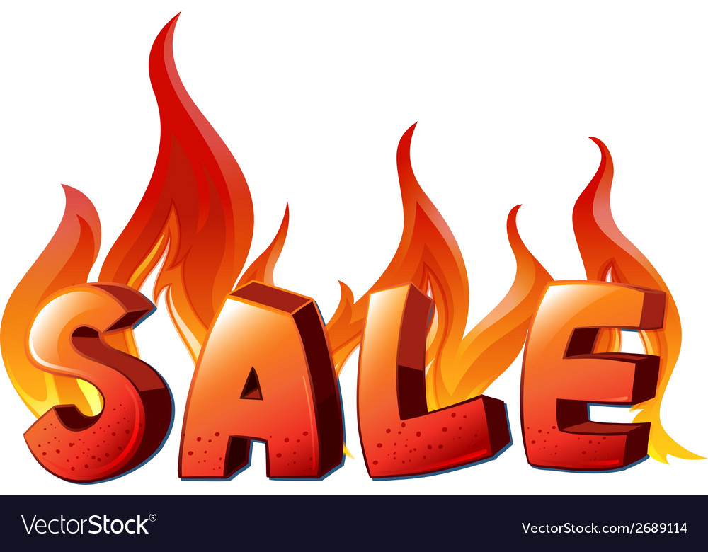A sale artwork vector | Price: 1 Credit (USD $1)
