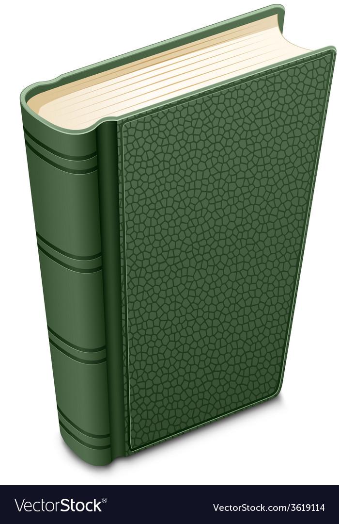 Green book vector | Price: 1 Credit (USD $1)