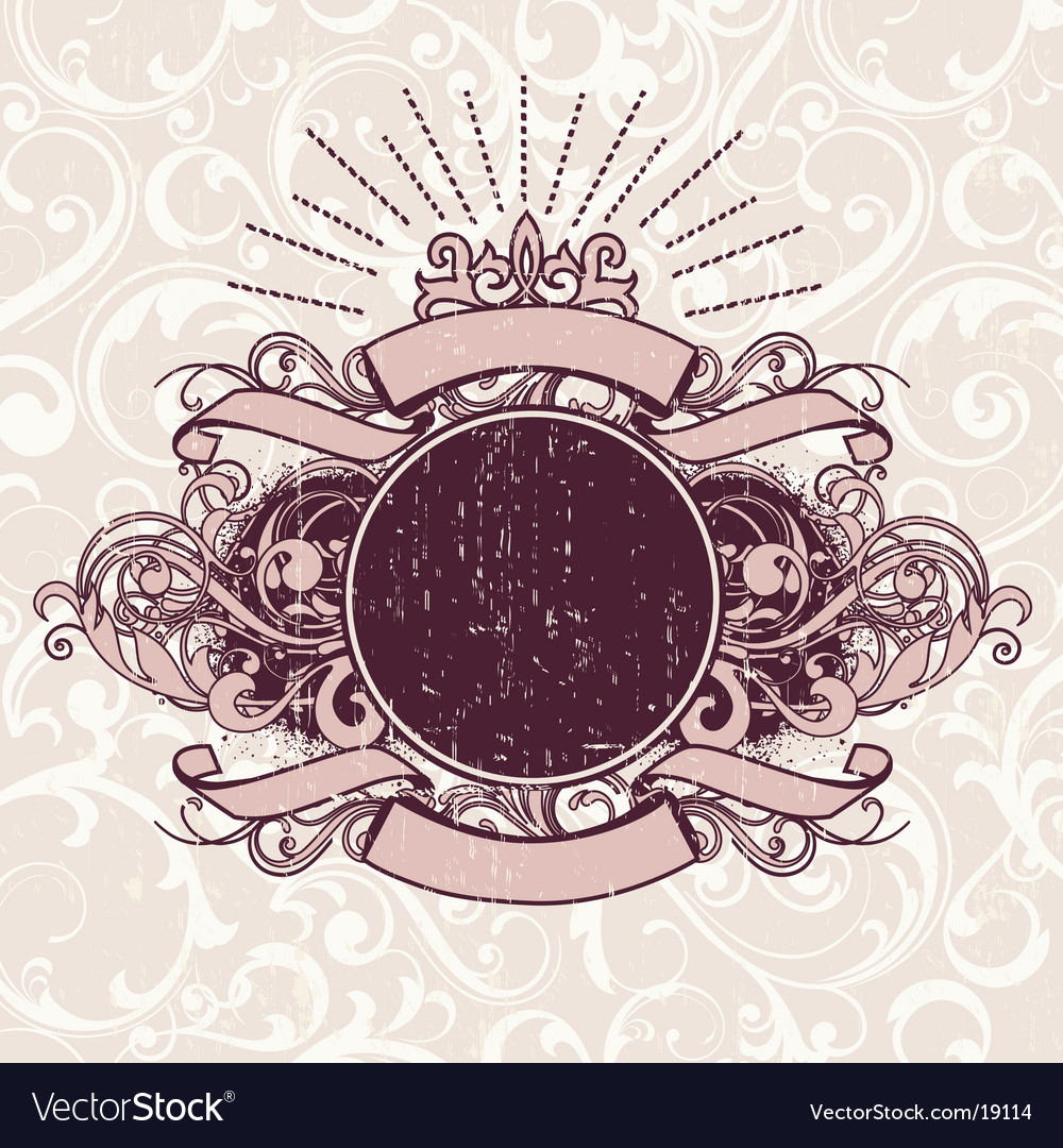 Grunge heraldry shield vector | Price: 1 Credit (USD $1)